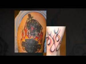 Fire and Flame Tattoo Pictures