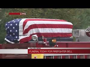 Bagpipes for Firefighter Kevin Bell