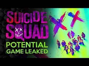 Possible Suicide Squad Live Service Game Leaked