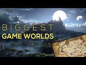 Biggest Game Worlds of all times TOP 10