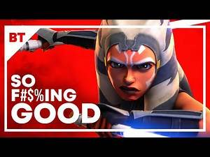 Star Wars The Clone Wars Is So F@#$ing Good