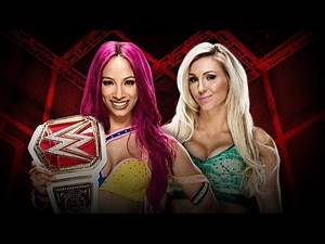 WWE Hell in a Cell 2016 - Sasha Banks vs. Charlotte Flair (Hell in a Cell Match)