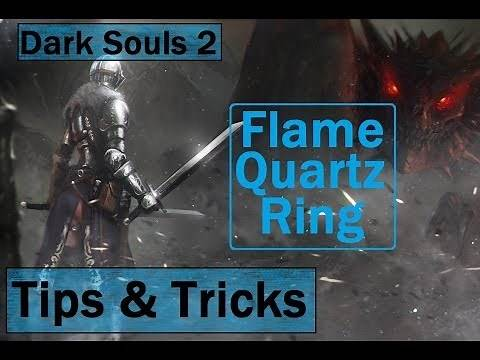 Dark Souls 2: Where to get the Flame Quartz Ring - Tips and Tricks