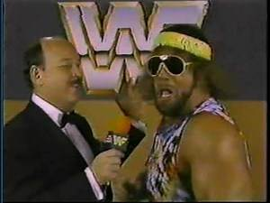 """Macho Man"" Randy Savage Interview [1985-11-23]"