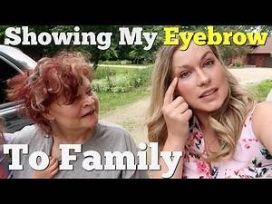 SHOWING MY SHAVED EYEBROW TO FAMILY TRYING INDIAN FOOD🇮🇳 Chicken Biryani and Chicken Tandoori
