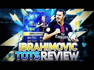 FIFA 16 TOTS ZLATAN IBRAHIMOVIC (98 IBRA) PLAYER REVIEW - THE STRONGEST & MOST POWERFUL STRIKER