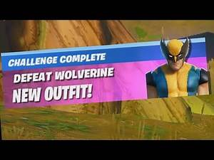 ✅ Defeat Wolverine - Fortnite Week 6 WOLVERINE Awakening Challenges
