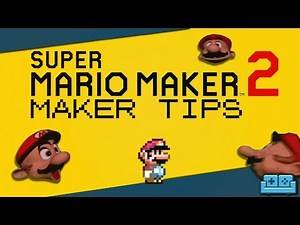 SUPER MARIO MAKER 2   Tips and Tricks for making Courses