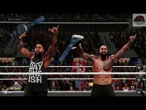 WWE 2K19 - The Usos vs New Day (Smackdown Tag Team Championship) - Wrestlemania Universe Mode !!!!