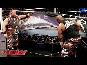 """The Dudley Boyz will never """"get the tables"""" again: Raw, February 15, 2016"""