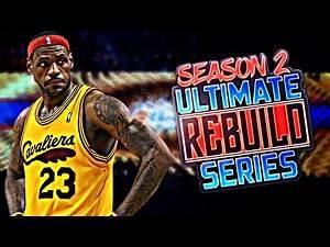 2008 START!! ULTIMATE REBUILDING SERIES S2 #1 NBA 2K17 MY LEAGUE