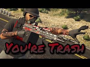 Killing Trash Players Ep 1 | GTA 5 Online (PS4)