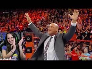 WWE Raw 4/3/17 KURT ANGLE New Raw GM