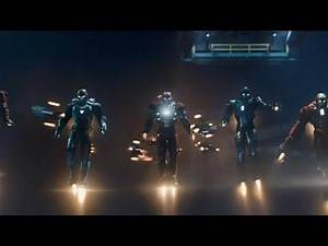 Iron Man - 3 Final Battle Fight Scene in Hindi (Part 1) Top Clips By immyrkst
