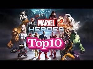 Top 10 Most Powerful Marvel Superheroes