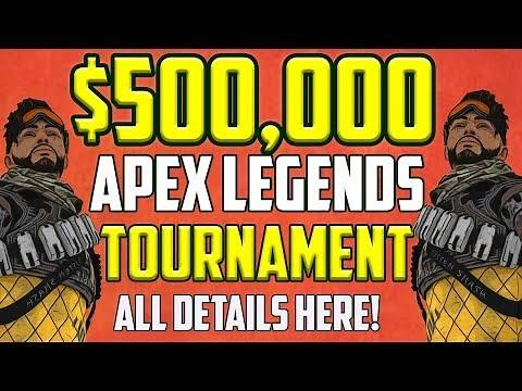 $500,000 APEX LEGENDS Tournament Announced! How To Enter and Watch Apex Preseason Invitational