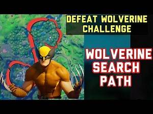 How to Easily Find Wolverine Every Game - Defeat Wolverine Location (Wolverine Search Path) Fortnite