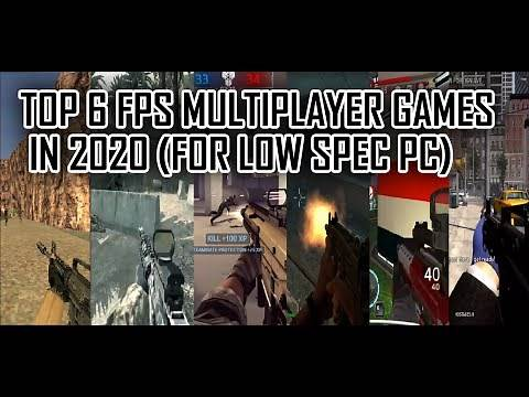 Top 6 best fps multiplayer games for low end PC 2020 (4GB/2GB RAM)