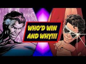 Mr Fantastic VS Plastic Man (Marvel VS DC) - WHO'D WIN AND WHY!!!