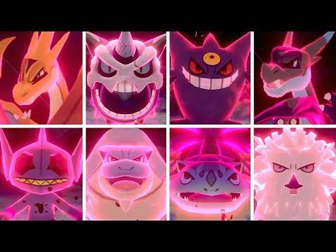 All Mega Evolutions in Pokémon Sword & Shield