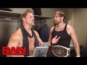 """Dean Ambrose asks to be taken off """"The List of Jericho"""": Raw, April 24, 2017"""