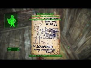 Fallout 4 Ep 234 Wasteland Survival Guide The Scrapyard Home Decoration Guide Lynn Woods