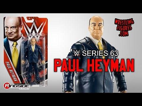 WWE FIGURE INSIDER: Paul Heyman - WWE Series 63