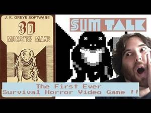 SUM Talk - The First Ever Survival Horror Video Game - 3D Monster Maze