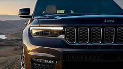 2021 Jeep Grand Cherokee L Revealed - new SUV with a long wheelbase