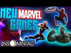 NEW GAMES FROM MARVEL ON PS4!?! - Marvel Gaming Universe? [MGU]