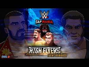 GLORIOUS! | High Flyers Event Rewards | WWE Tap Mania