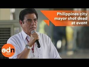 Philippines city mayor shot dead while singing national anthem
