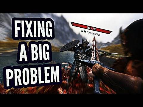 How to Fix Scaling in Skyrim with Only 1 Mod!