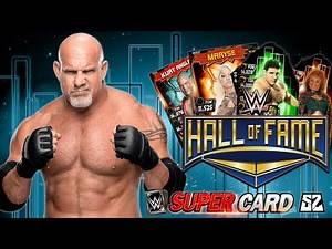 GOLDBERG HALL OF FAME EVENT & THROWBACK CARDS SOON? | WWE SuperCard S4 (notion)