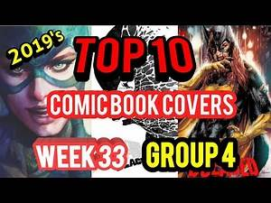 Top 10 Comic Book Covers Week 33 Group 4