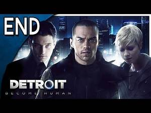 Let's Play Detroit: Become Human Part 20 Ending - Battle for Detroit [PS4 Gameplay]