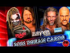WWE Survivor Series 2021 Dream Match Cards Predictions|Survivor Series 2020 match Cards