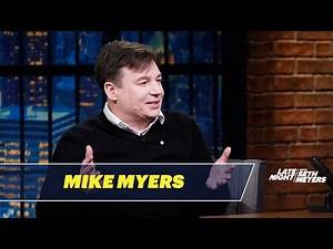 Mike Myers Talks About His Intense Love of Soccer