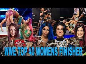 WWE TOP 40 WOMENS FINISHER ( 2020 ) [ WWE LIVFUL FAN ]