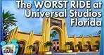 The WORST Ride at Universal Studios Florida