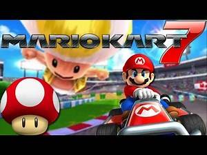 Mario Kart 7 Part 1 - Mushroom Cup - Shadow The Gamer