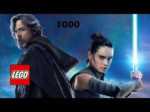 Force-Sensitive Rey (and Old Luke Skywalker) - LEGO Star Wars: The Force Awakens