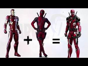 Marvel & DC Characters Fusion - Part 1