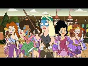 American Dad - War of the Smith family