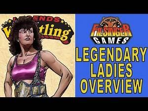 Filsinger Games Legends of Wrestling Legendary Ladies Overview Sherri Martel Tina Moretti Jazz