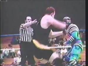 "New England Wrestling Federation - WWE's Max Moon vs ""Brutal"" Bob Evans"