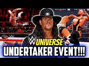 WWE UNIVERSE NEW GET UNDERTAKER EVENT! RAW & SMACKDOWN DRAFT OPENING!!!