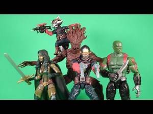 Marvel Legends Guardians of the Galaxy Entertainment Earth Exclusive