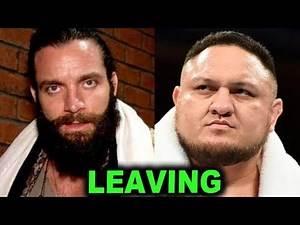 10 WWE Superstars Who Will Be Forced to Leave Soon - Elias & Samoa Joe Leaving