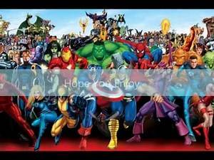 Top 50 Marvel Characters